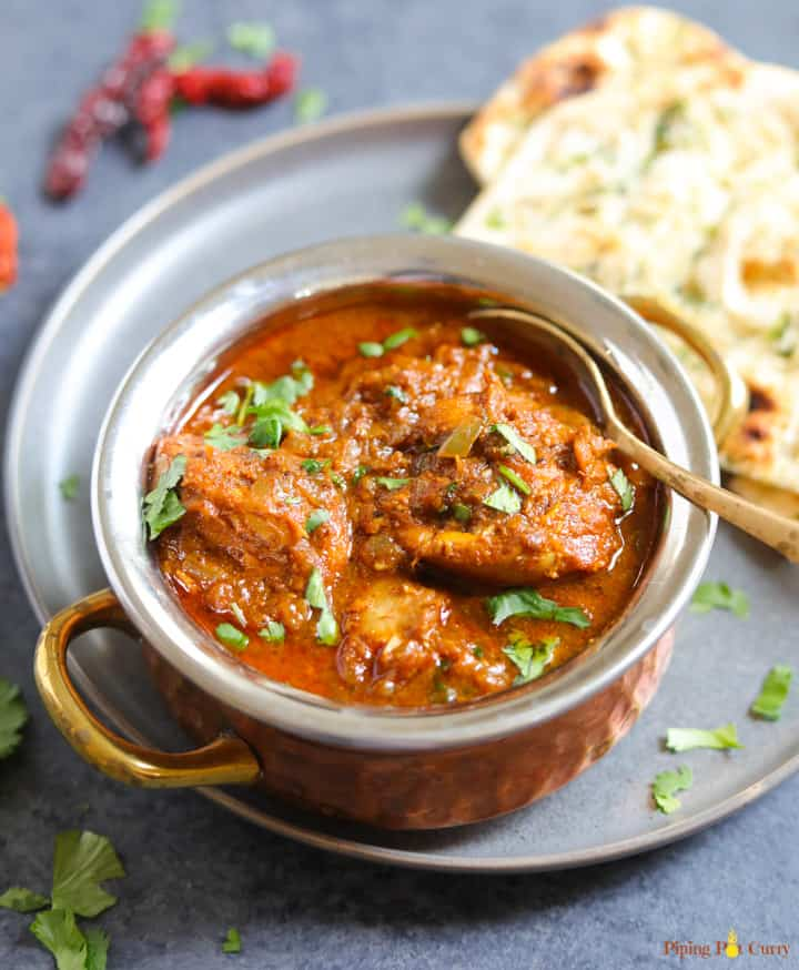 Four Fabulous Recipes for Chicken Vindaloo (Slow Cooker or Instant Pot) found on Slow Cooker or Pressure Cooker