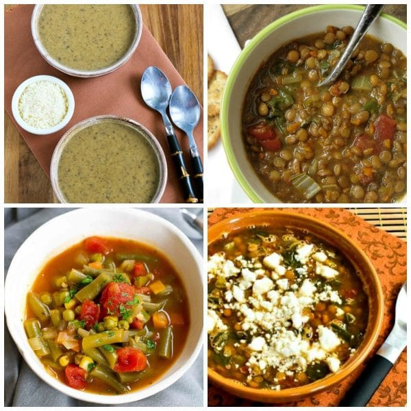 Four Fantastic Vegetarian Soup Recipes (Slow Cooker or Instant Pot)
