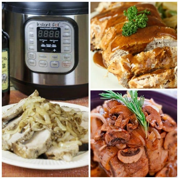 Three Fantastic Recipes for Pork Roast from Slow Cooker or Pressure Cooker at SlowCookerFromScratch.com