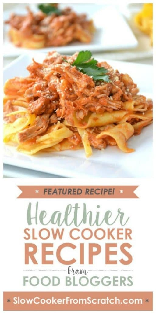 Slow Cooker Pork Ragu from Mother Thyme found on SlowCookerFromScratch.com