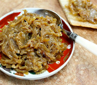 How to Make Caramelized Onions in the Slow Cooker from The Perfect Pantry found on SlowCookerFromScratch.com