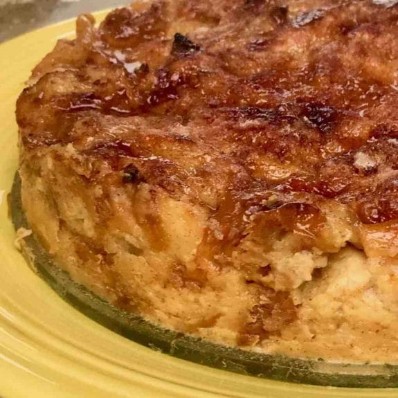 Three Tempting Recipes for Bread Pudding featured on Slow Cooker or Pressure Cooker at SlowCookerFromScratch.com