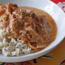 Better Butter Chicken from Dinner with Julie found on Slow Cooker or Pressure Cooker at SlowCookerFromScratch.com
