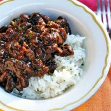 Slow-Cooker Recipe for Puerto Rican Black Beans with Sofrito and Cilantro from The Perfect Pantry found on Slow Cooker or Pressure Cooker at SlowCookerFromScratch.com