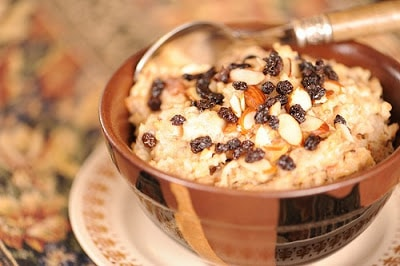 Joyful Almond Oatmeal