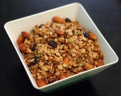 Slow Cooker Almond Cherry Coconut Granola