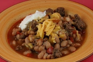 Slow Cooker Cowboy Beans from A Year of Slow Cooking via SlowCookerFromScratch.com