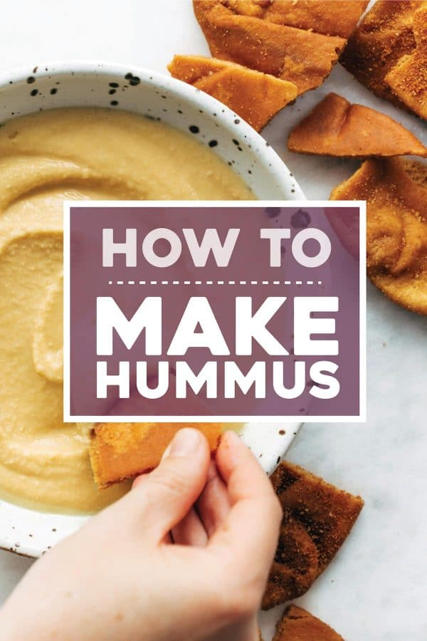 How to Make Hummus from Pinch of Yum