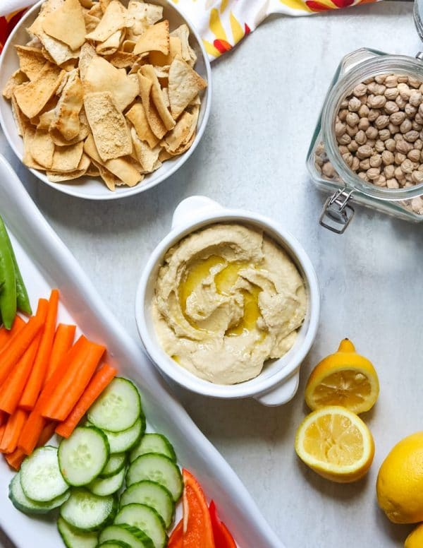 Instant Pot Hummus without Tahini from A Mind Full Mom