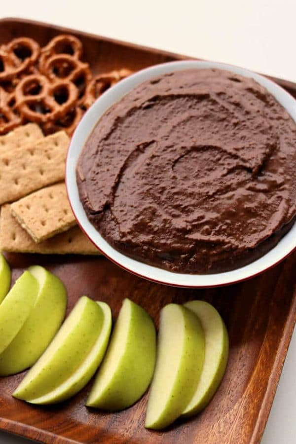Instant Pot Chocolate Peanut Butter Hummus from 365 Days of Slow + Pressure Cooking