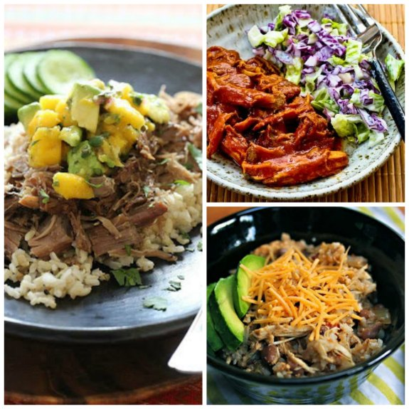 20 Amazing Slow Cooker Summer Dinners featured on Slow Cooker or Pressure Cooker at SlowCookerFromScratch.com