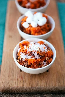 Coconut-Pecan Slow Cooker Sweet Potatoes