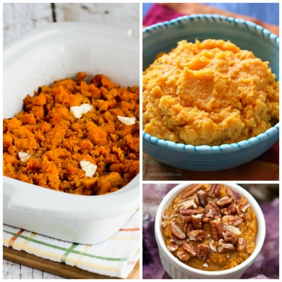 Top Ten Recipes for Slow Cooker Sweet Potatoes plus Honorable Mentions [found on SlowCookerFromScratch.com]
