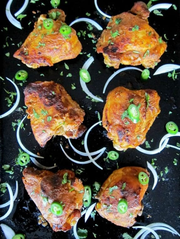 Three Fantastic Recipes for Tandoori Chicken featured on Slow Cooker or Pressure Cooker at SlowCookerFromScratch.com