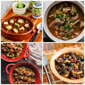 Low-Carb Beef Stew photo collage