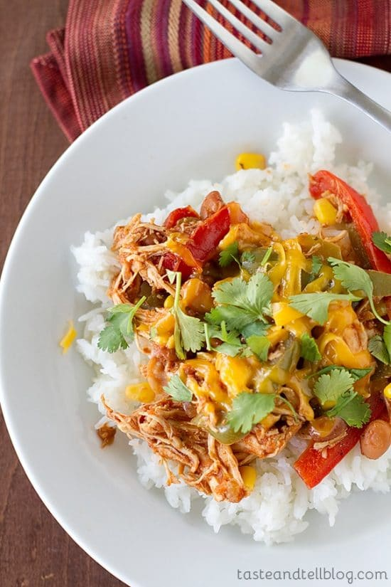 Three Simple Recipes for Mexican Chicken found on Slow Cooker or Pressure Cooker at SlowCookerFromScratch.com