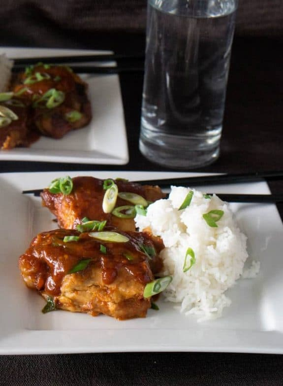 Three Tempting Recipes for Korean Chicken from Slow Cooker or Pressure Cooker at SlowCookerFromScratch.com