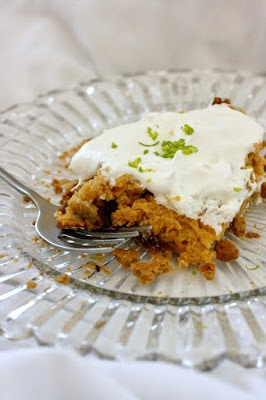 Slow Cooker Key Lime Pie from A Year of Slow Cooking found on SlowCookerFromScratch.com