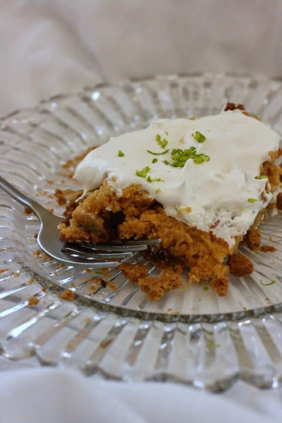 How to Make Key Lime Pie in the Slow Cooker from A Year of Slow Cooking