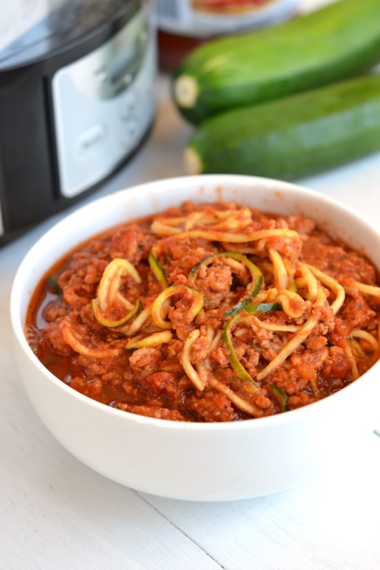 The BEST Slow Cooker Zucchini Recipes featured on Slow Cooker or Pressure Cooker at SlowCookerFromScratch.com