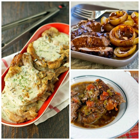 Top 25 Low-Carb Slow Cooker Dinners from Slow Cooker from Scratch (plus more from around the web!) featured on SlowCookerFromScratch.com