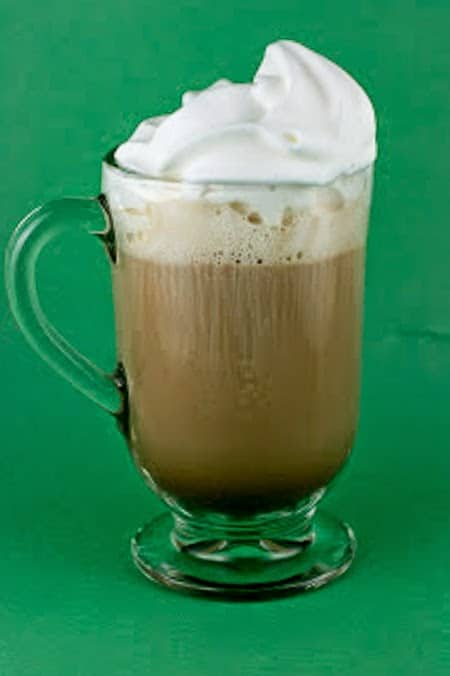 Irish Cream Coffee in the Slow Cooker from A Year of Slow Cooking featured on SlowCookerFromScratch.com