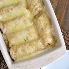 Slow Cooker Smothered Sweet Pork Burritos from Mel's Kitchen Cafe featured on Slow Cooker or Pressure Cooker at SlowCookerFromScratch.com