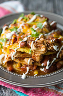 Crockpot Mexican Chili Tortilla Stacks from Crockpot Gourmet featured on Slow Cooker or Pressure Cooker at SlowCookerFromScratch.com