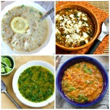 Slow Cooker and Instant Pot Lentil Soup Recipes top collage photo