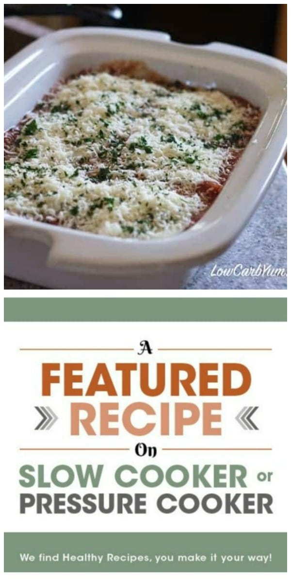 Pinterest image for Ground Beef Eggplant Casserole Low Carb Yum