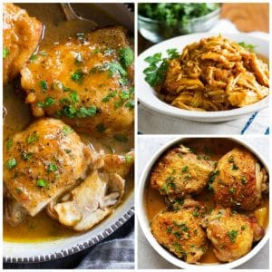 Three Easy Recipes for Honey Mustard Chicken featured on Slow Cooker or Pressure Cooker at SlowCookerFromScratch.com