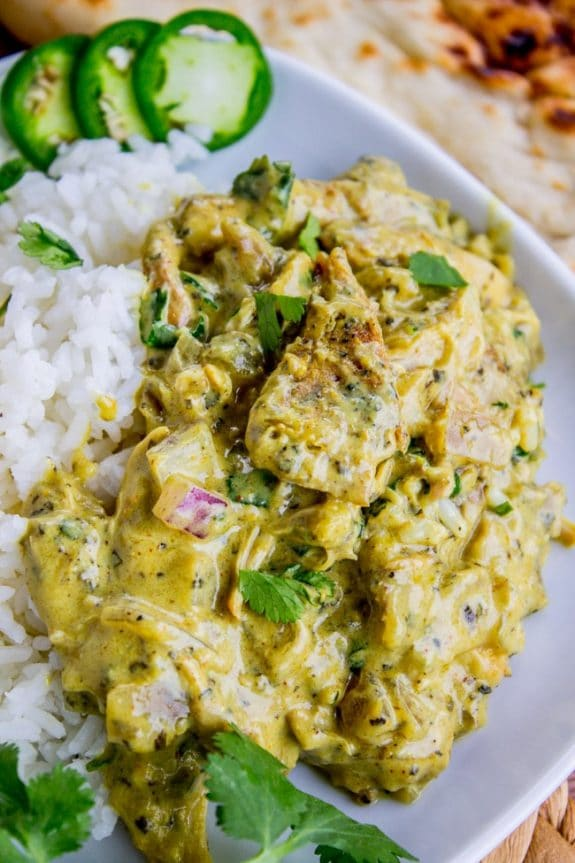 Three Mouth-Watering Recipes for Coconut Curry Chicken from Slow Cooker or Pressure Cooker at SlowCookerFromScratch.com