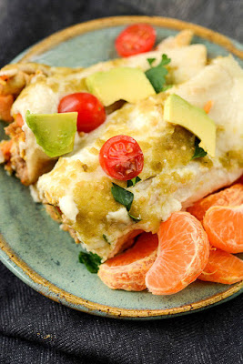 Slow Cooker Breakfast Enchiladas from Slow Cooker Gourmet featured on Slow Cooker or Pressure Cooker at SlowCookerFromScratch.com