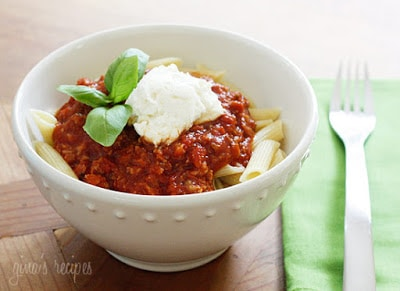 how to make healthy pasta sauce from scratch