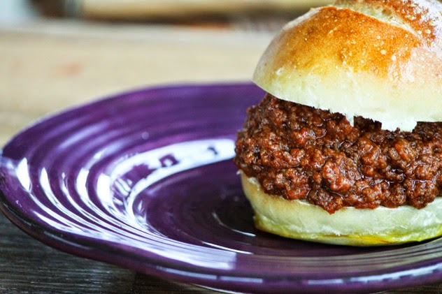 The BEST Slow Cooker Sloppy Joes from Food Bloggers found on SlowCookerFromScratch.com