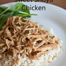 Slow Cooker Sweet Shoyu Chicken from Boys Ahoy featured on Slow Cooker or Pressure Cooker at SlowCookerFromScratch.com
