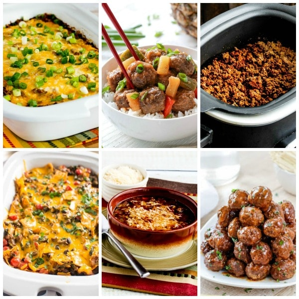 The BEST Slow Cooker Recipes with Ground Beef found on Slow Cooker or Pressure Cooker at SlowCookerFromScratch.com