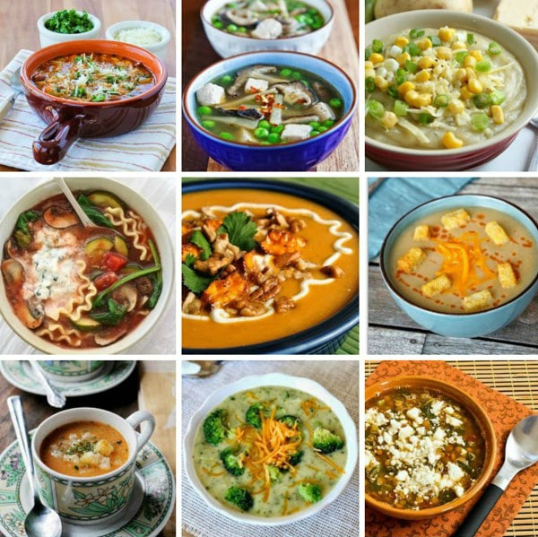 Top 20 Vegetarian and Vegan Slow Cooker Soups Featured on Slow Cooker or Pressure Cooker