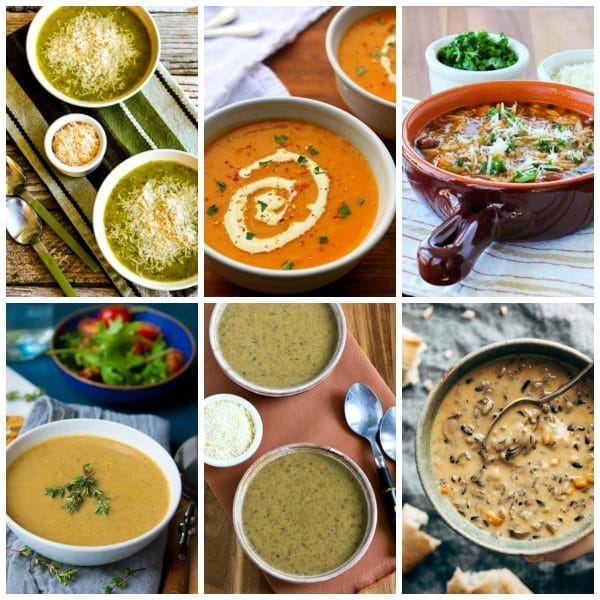 Amazing Vegetarian and Vegan Soups found on Slow Cooker or Pressure Cooker