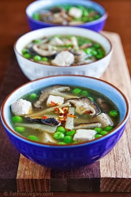 Top 20 Vegetarian and Vegan Slow Cooker Soups Featured on SlowCookerFromScratch.com.
