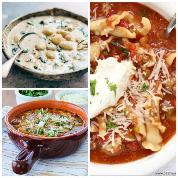 The BEST Slow Cooker Recipes with Pasta found on SlowCookerfromScratch.com