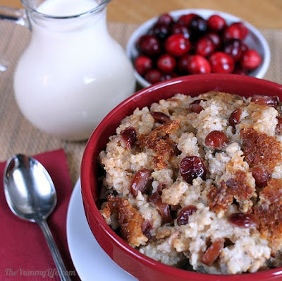 The BEST Slow Cooker Overnight Oatmeal featured on SlowCookerFromScratch.com