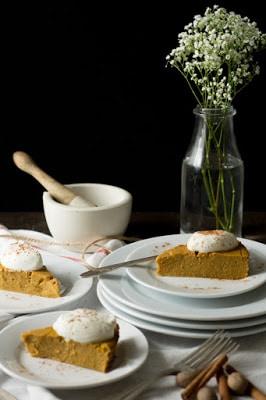 CrockPot Crustless Pumpkin Pie from Amy Green featured on SlowCookerFromScratch.com