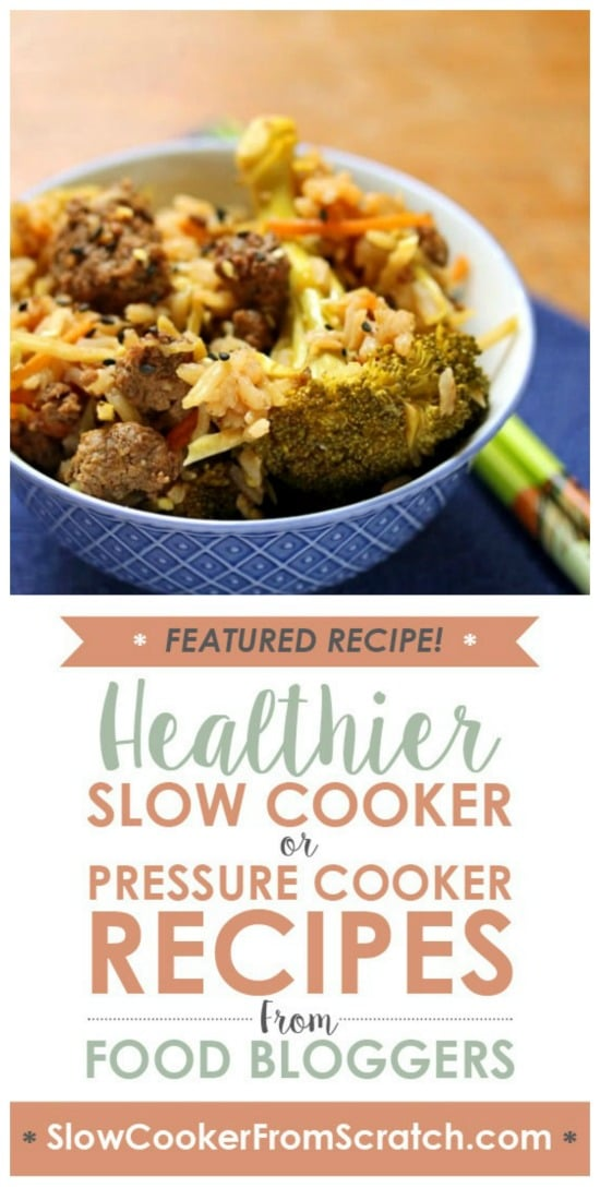 Slow Cooker Beef and Broccoli from The Perfect Pantry featured on Slow Cooker or Pressure Cooker at SlowCookerFromScratch.com