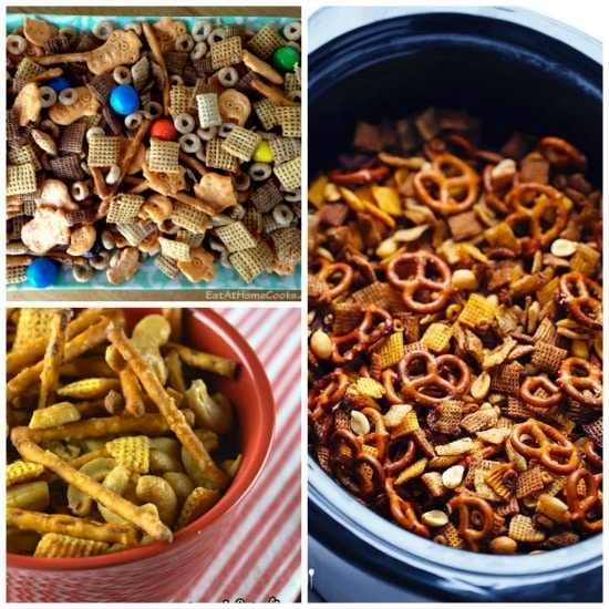 The BEST Slow Cooker Chex Mix Recipes from Food Bloggers found on Slow Cooker or Pressure Cooker at SlowCookerFromScratch.com