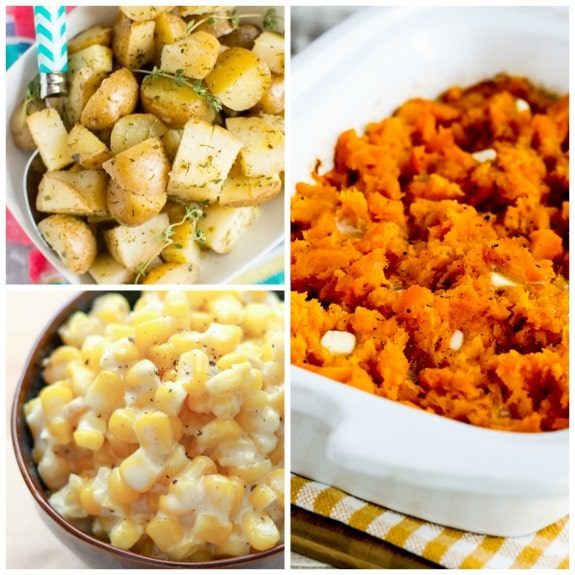 The BEST Slow Cooker Winter Side Dishes featured on SlowCookerFromScratch.com