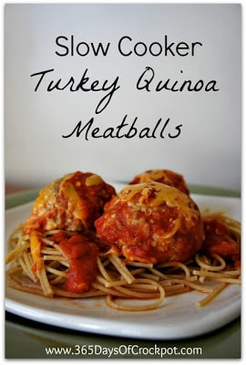 Top Ten Slow Cooker Meatballs Recipes from SlowCookerFromScratch.com