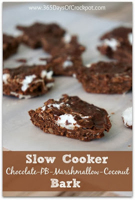 The BEST Slow Cooker Chocolate Desserts from Food Bloggers featured on SlowCookerFromScratch.com.