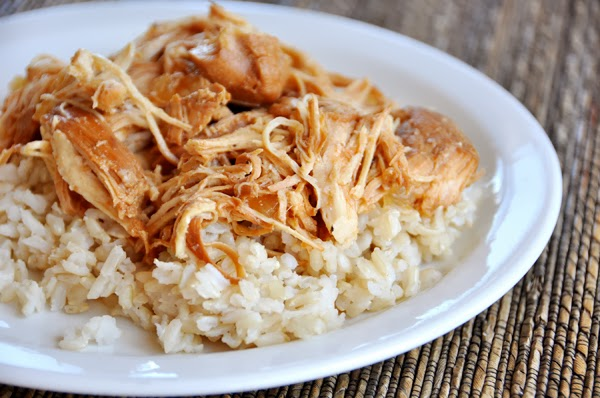 Slow Cooker Kansas City Sue's Chicken from Mel's Kitchen Cafe featured on SlowCookerFromScratch.com