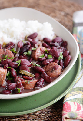 The BEST Slow Cooker New Orleans Red Beans and Rice Recipes featured on SlowCookerFromScratch.com